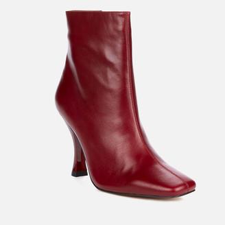 Kurt Geiger Women's Rocco Leather Heeled Boots