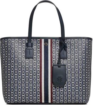 Tory Burch Gemini Link Small Top-Zip Tote Bag