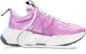 Maison Margiela Fuchsia Padded Nylon Studio 2 Sneakers