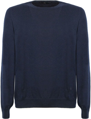 Fay Blue Virgin Wool Sweater
