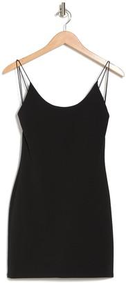 Alice + Olivia Nellie Spaghetti Strap Bodycon Mini Dress