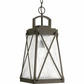 Keansburg 1-Light Outdoor Hanging Lantern Gracie Oaks Finish: Antique Bronze