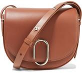 3.1 Phillip Lim Alix Saddle Leather Shoulder Bag - Brown