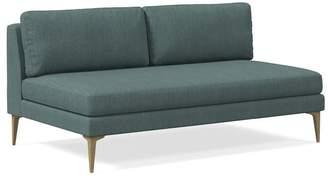 west elm Armless 2 Seater Sofa
