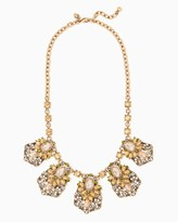 Charming charlie Blooming Gardens Bib Necklace