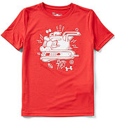 Under Armour Big Boys 8-20 Speed Freak Short-Sleeve Graphic Tee