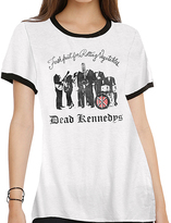 Goodie Two Sleeves White 'Dead Kennedys' Tee - Juniors