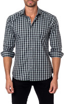 Jared Lang Long Sleeve Checkered Semi-Fitted Shirt