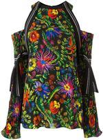 3.1 Phillip Lim off-shoulder floral blouse - women - Silk/Spandex/Elastane/Viscose - 4