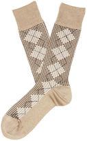 Perry Ellis Mini Houndstooth Sock