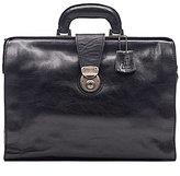 Nash For Men Heritage Leather Slim Briefcase