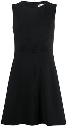 RED Valentino Tuxedo Bow Detail Dress
