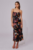 C/Meo Collective OBSESSIONS DRESS black floral