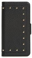 Kate Spade Embellished Iphone 7 & 7 Plus Folio Case - Black