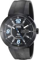 Oris Men's 'TT1 diver' Swiss Stainless Steel and Rubber Automatic Watch, Color: (Model: 73576514765RS)