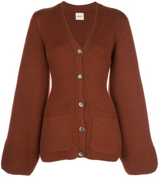 KHAITE Lucy slim-fit wool cardigan