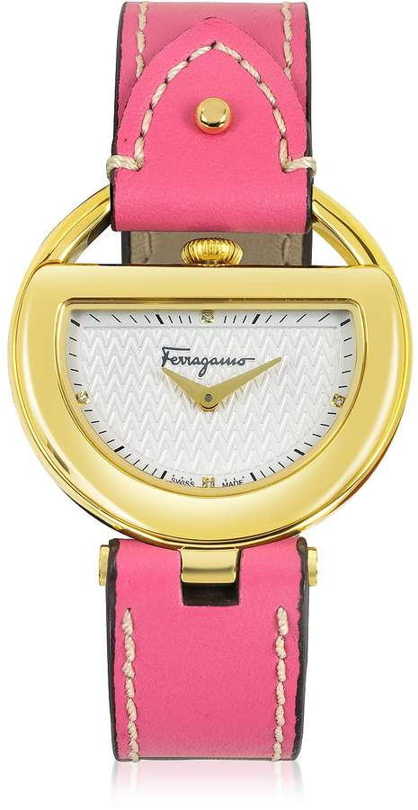 118ec7ea5d0f8 Salvatore Ferragamo Diamond Watch - ShopStyle