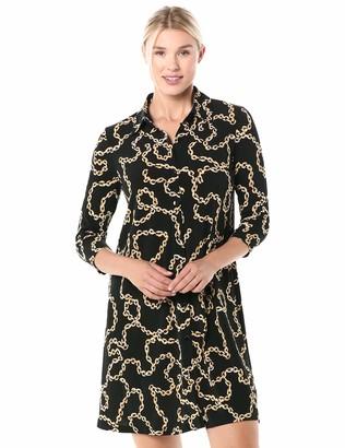 Ronni Nicole Women's Status Print Shirt Dress