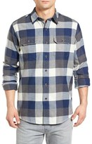 Tailor Vintage Men's Buffalo Plaid Flannel Sport Shirt
