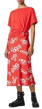 AllSaints Lenni Jasmine Two In One Dress