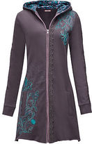 Joe Browns Women's Zip Up Hoody with Embroidery Detail