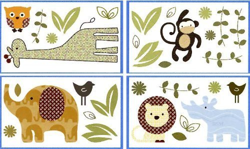 CoCalo Noah and Friends Wall Decals