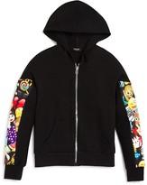 Terez Girls' Emoji Sleeve Hoodie, Sizes 4-6X - 100% Bloomingdale's Exclusive