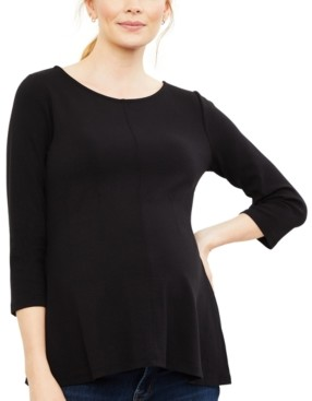 A Pea in the Pod Maternity Peplum Top