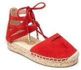 Aquazzura Mini Baby's, Toddler's & Kid's Mini Belgravia Suede Lace-Up Espadrilles