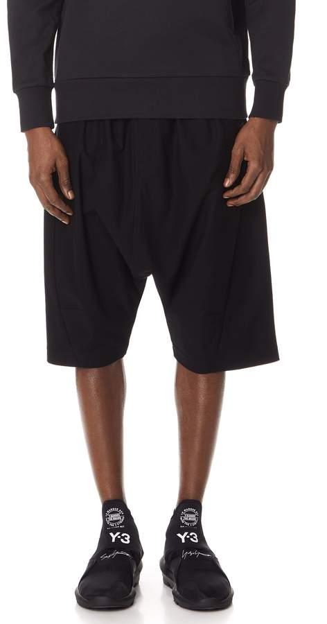 Y-3 Y 3  Twill Sarouel Shorts