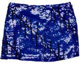 Gryphon Silk Embellished Skirt