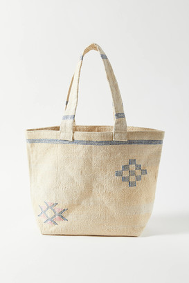 Urban Outfitters Embroidered Cactus Tote Bag
