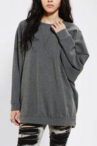 Sparkle & Fade Oversized Dolman Pullover Sweatshirt