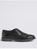 Autograph Big & Tall Leather Lace Up Brogue Shoes