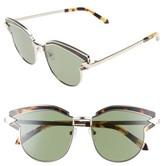 Karen Walker Women's Felipe 50Mm Retro Sunglasses - Gold/ Crazy Tortoise