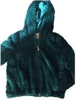 Pinko Green Faux fur Jacket for Women