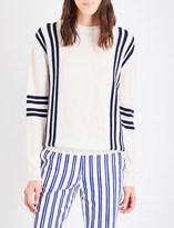 MiH Jeans Frieda striped wool jumper