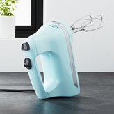 Crate & Barrel KitchenAid ® Ice Blue 5-Speed Hand Mixer