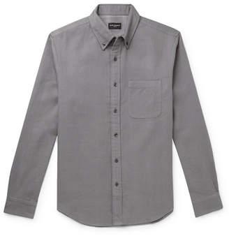 Club Monaco Button-Down Collar Double-Faced Cotton-Flannel Shirt