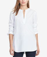 Lauren Ralph Lauren Broadcloth Tunic