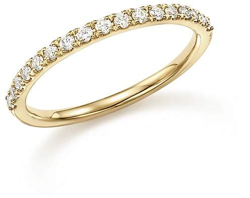 Bloomingdale's Diamond Micro-Pave Stack Ring in 14K Yellow Gold, .25 ct. t.w.