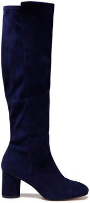 Stuart Weitzman Paneled Suede Knee Boots