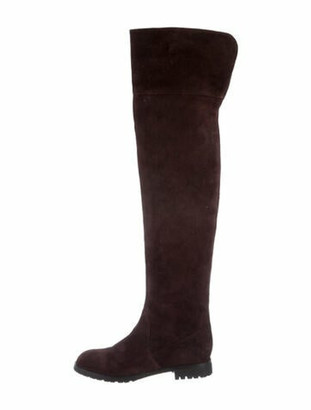 Marc Jacobs Suede Boots Brown