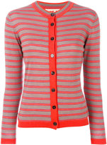 Marni striped cardigan - women - Silk/Virgin Wool - 38