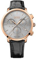 HUGO BOSS Mens Men's Chronograph Analog Dress Quartz Watch (Imported) 1513264