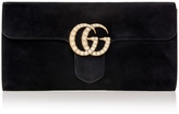 Gucci GG Marmont Suede Clutch