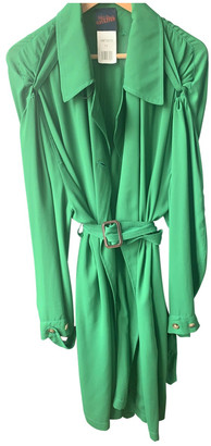Jean Paul Gaultier Green Polyester Trench coats