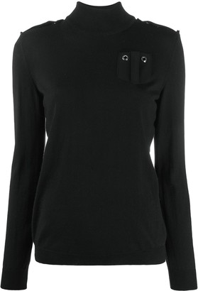 Boutique Moschino Long-Sleeve Knitted Top