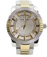 Ecko Unlimited Men's M15039G2 The Point Analog Display Japanese Quartz Two Tone Watch