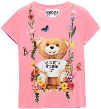 Moschino Printed Jersey T-shirt